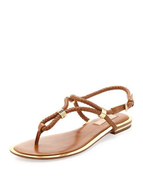 Hartley Braided Flat Sandal