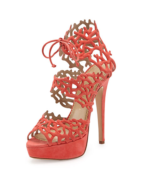 Good Gracious Sandal, Coral