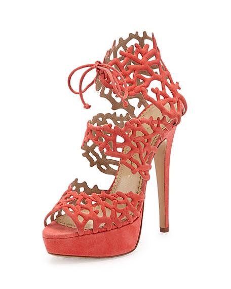 Good Gracious Sandal, Coral