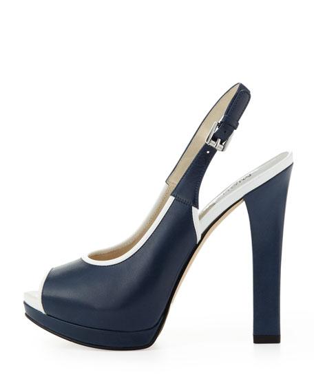 Adria Peep-Toe Slingback