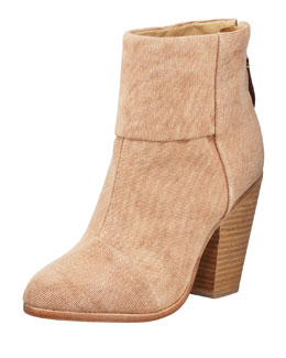Rag & Bone Newbury Classic Canvas Boot, Camel