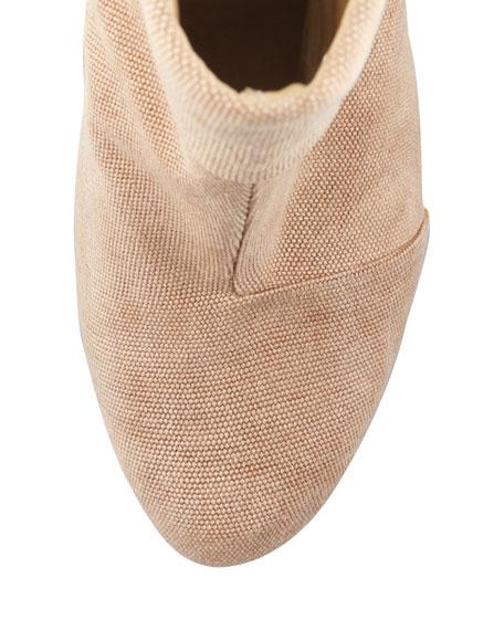 Newbury Classic Canvas Boot, Camel
