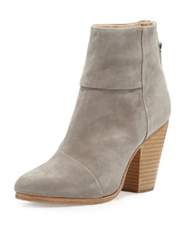 Rag & Bone Newbury Nubuck Ankle Boot, Gray