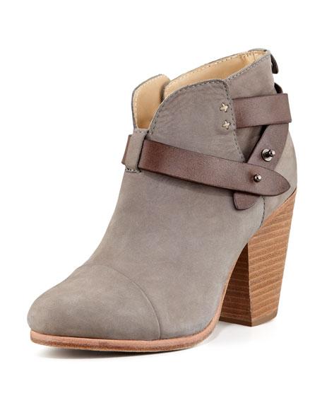 Harrow Nubuck Ankle Boot, Gray
