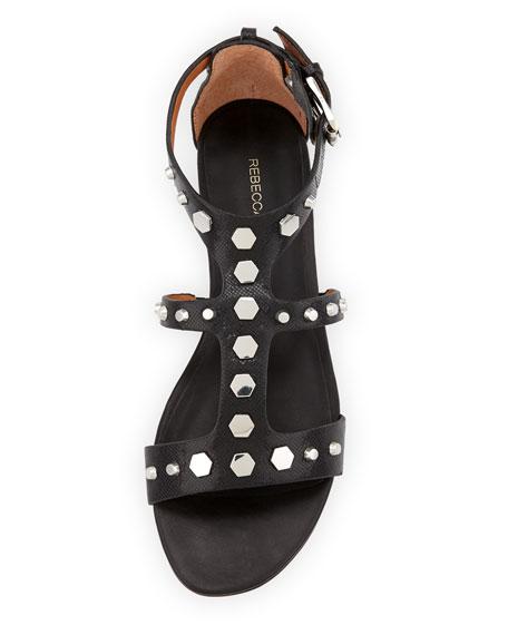 Santana Studded Gladiator Sandal