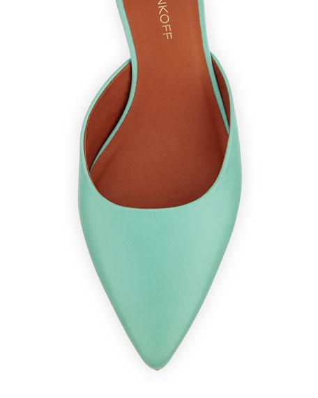 Irvin d'Orsay Low-Heel Pump, Mint Green