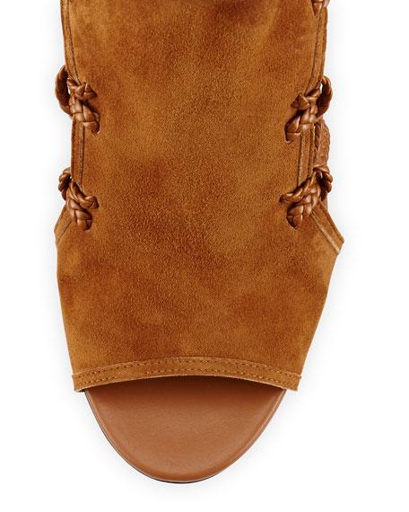 Sahara Suede Ankle-Tie Sandal