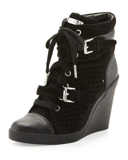 MICHAEL Michael Kors Skid Wedge High-Top