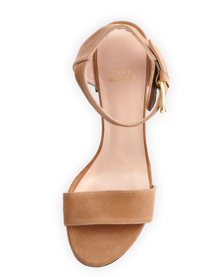 Breezy Leather City Sandal, Adobe
