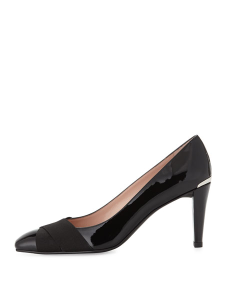 Expert Patent Crisscross Pump, Black