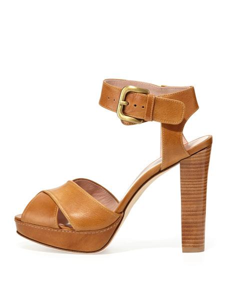 Exponent Crisscross Platform Sandal