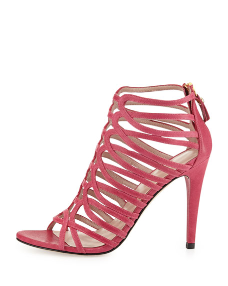 bc93506a358 Stuart Weitzman Loops Leather Strappy Sandal