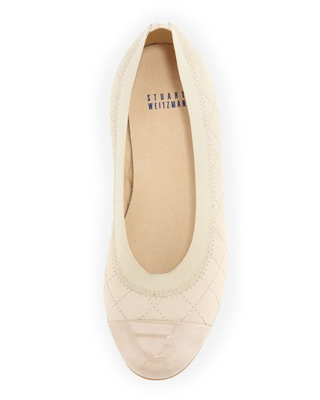 Quiltable Quilted Ballerina Flat, Pan