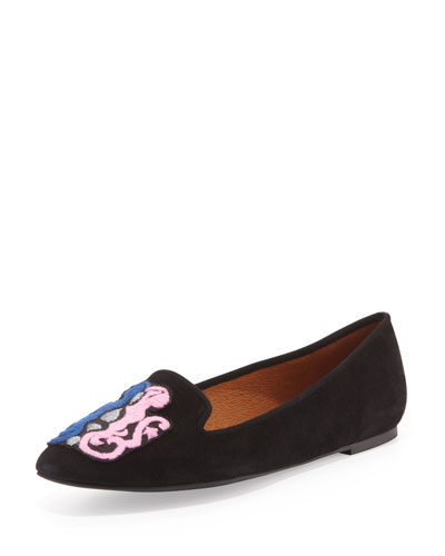 Birthday Zodiac Suede Slipper, Gemini