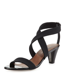 Donald J Pliner Vona Strappy Stretch Sandal, Black