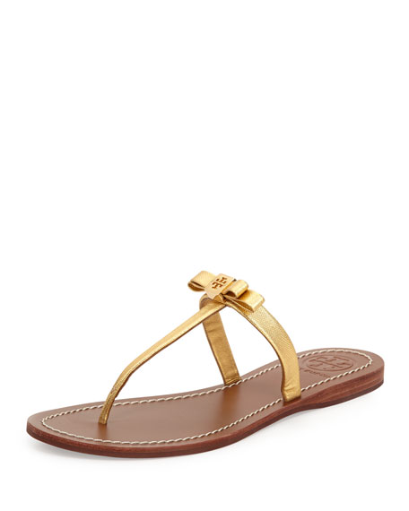 8f24fb7ce315 Tory Burch Leighanne Bow Thong Sandal