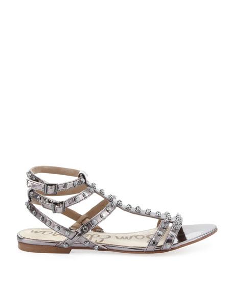 Berkeley Metallic Studded Sandal