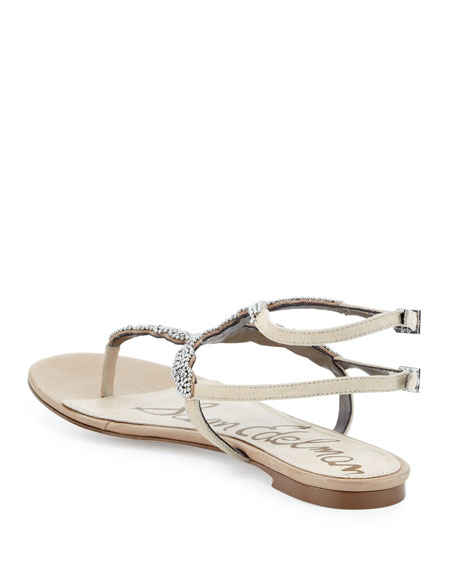 Nahara Beaded Thong Sandal