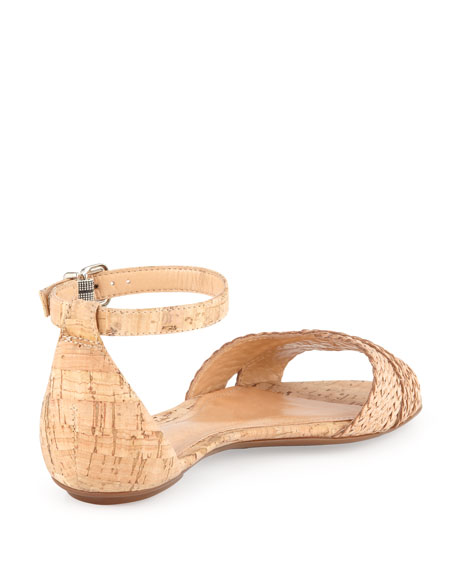 Fleuranne Cork and Leather Sandal