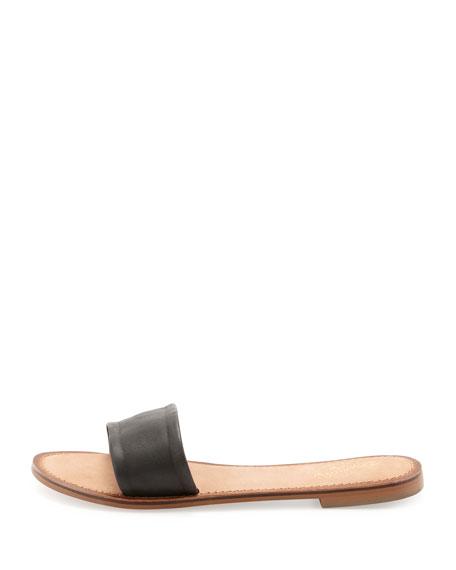 City Slicker Flat Slide, Black