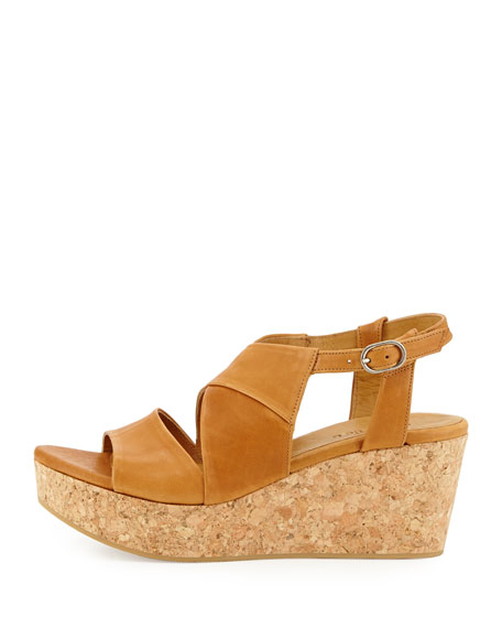 Melania Cork Wedge Sandal