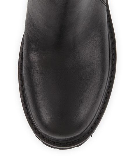 Crosby Hidden Platform Boot, Black