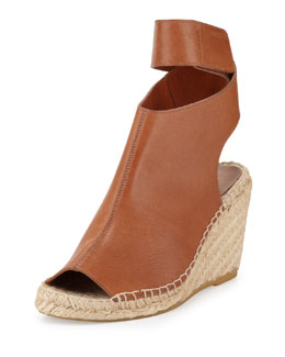 Vince Seymour Espadrille Wedge Bootie, Luggage