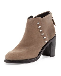 Rag & Bone Ayle Suede Ankle Boot, Clay