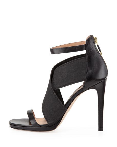 Sarita 2 Cross-Strap Sandal, Black