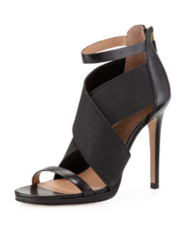 VC Signature Sarita 2 Cross-Strap Sandal, Black