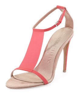 Burberry Prorsum T-Bar Sandal