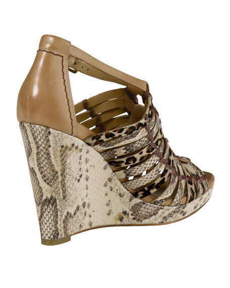 Cole Haan Air Minka Huarache Wedge Sandal