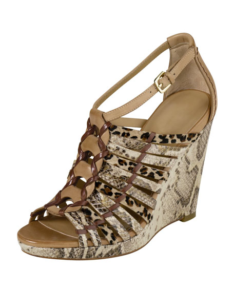 Air Minka Huarache Wedge Sandal