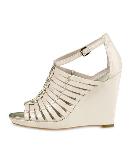 Air Minka Wedge Sandal, White