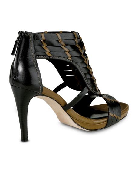 Minka Air Woven Sandal, Black