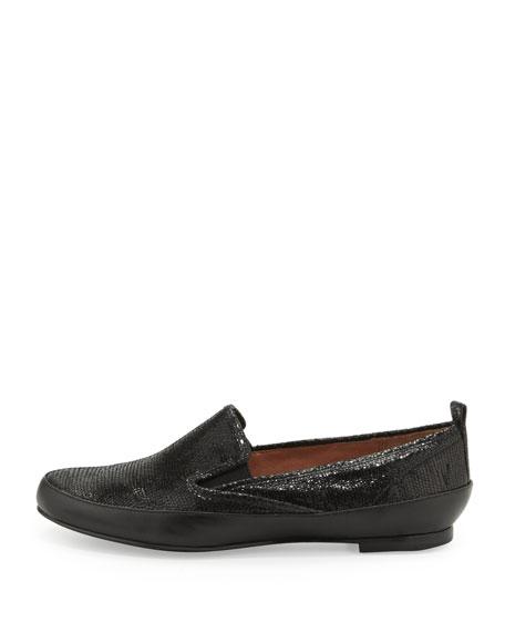Lincoln Leather Slip-On, Black