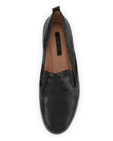Lincoln Leather Slip-On, Black