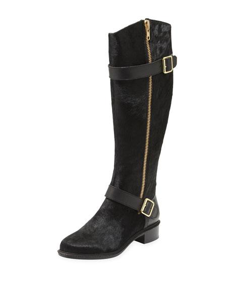 Thomas Calf Hair Knee Boot
