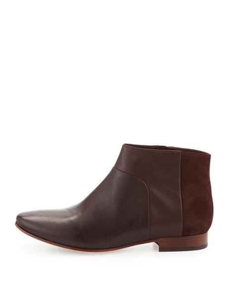 Allen Leather Bootie, Chestnut