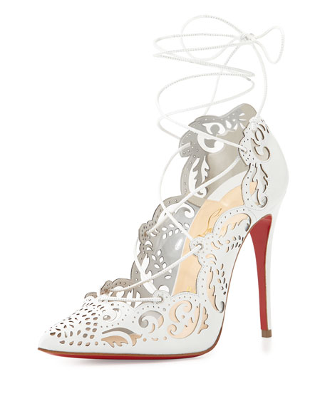 christian louboutin impera white