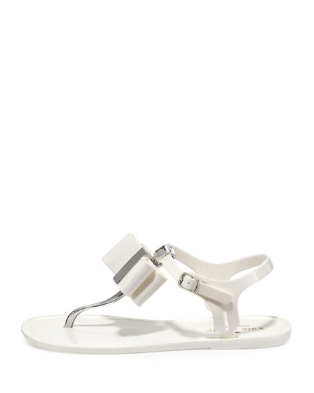 4088c966a kate spade new york filo bow jelly thong sandal