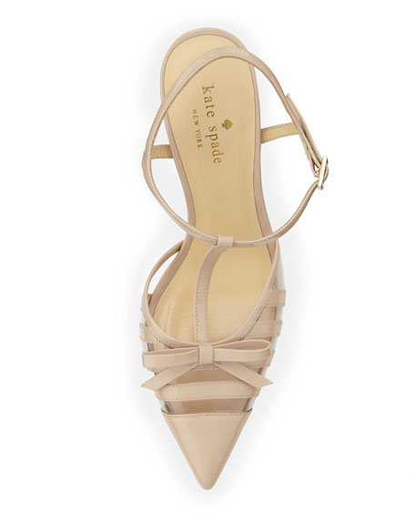 lello patent point-toe bow pump, powder