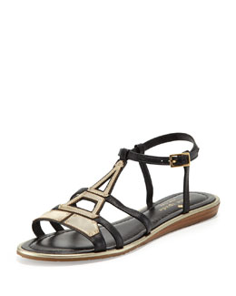 kate spade new york adon eiffel tower flat sandal