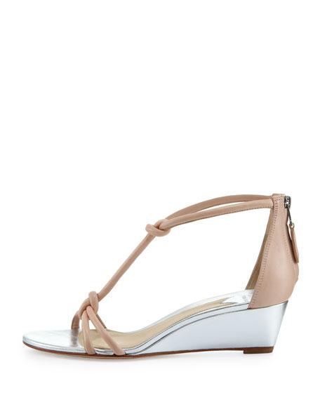 Tonee Napa T-Strap Sandal, Light Pink