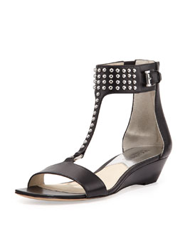 MICHAEL Michael Kors  Celena Studded Wedge
