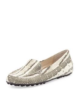 MICHAEL Michael Kors  Daisy Snake-Print Loafer