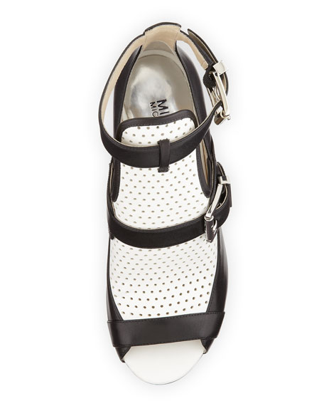 Dakota Perforated Ankle Boot