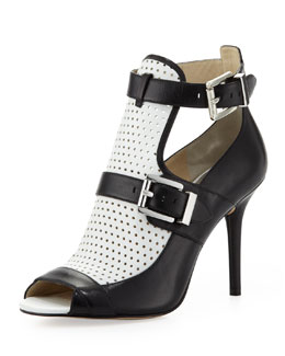 MICHAEL Michael Kors  Dakota Perforated Ankle Boot