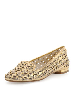 MICHAEL Michael Kors  Gabriella Perforated Flat