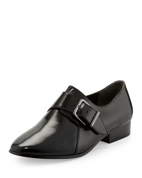 Caden Monk-Strap Loafer, Black